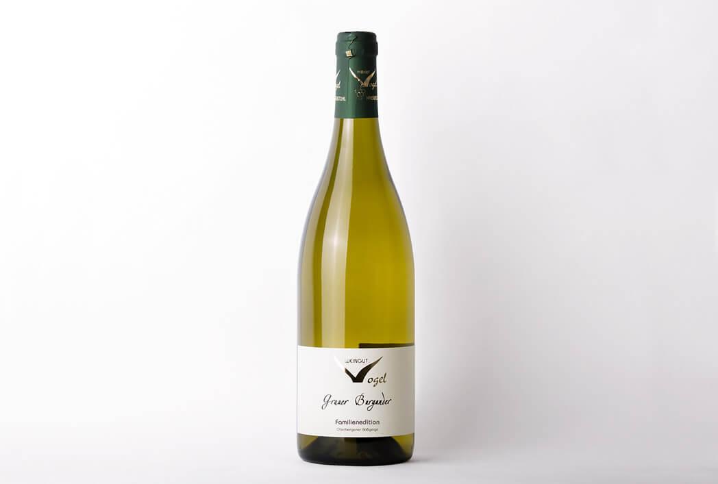 Weingut-Vogel - Speisekarte Familienedition - Grauer Burgunder