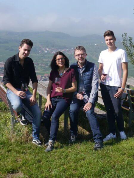 Familie Vogel Oberbergen